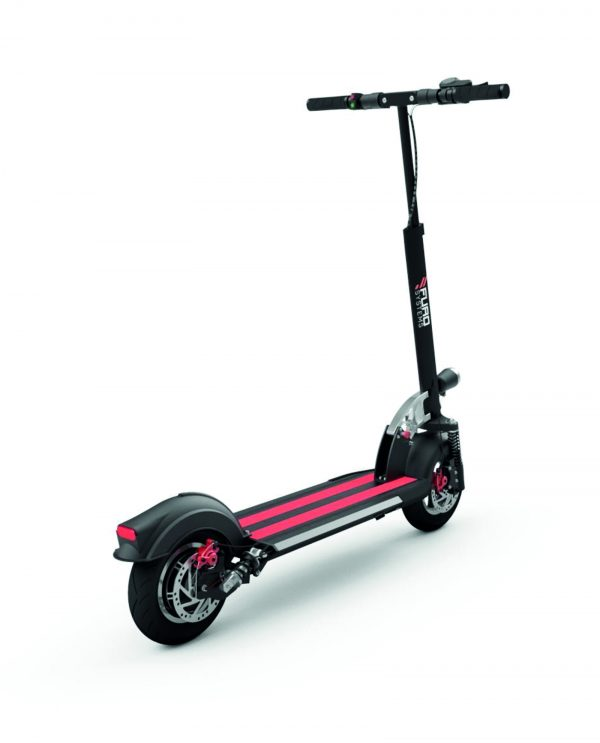 High performance scooter offering a world class riding experience. Aerospace grade construction and materials.