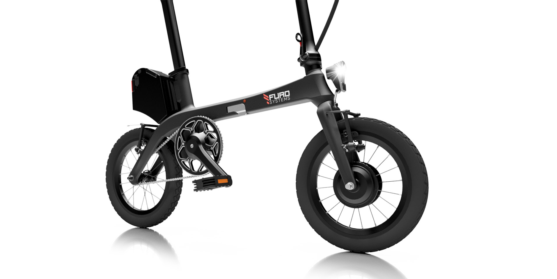 eTura - The World's lightest and most compact folding ebike.