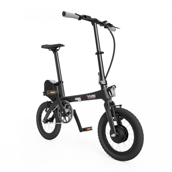 eTURA is the lightest and most compact folding electric bike in the world